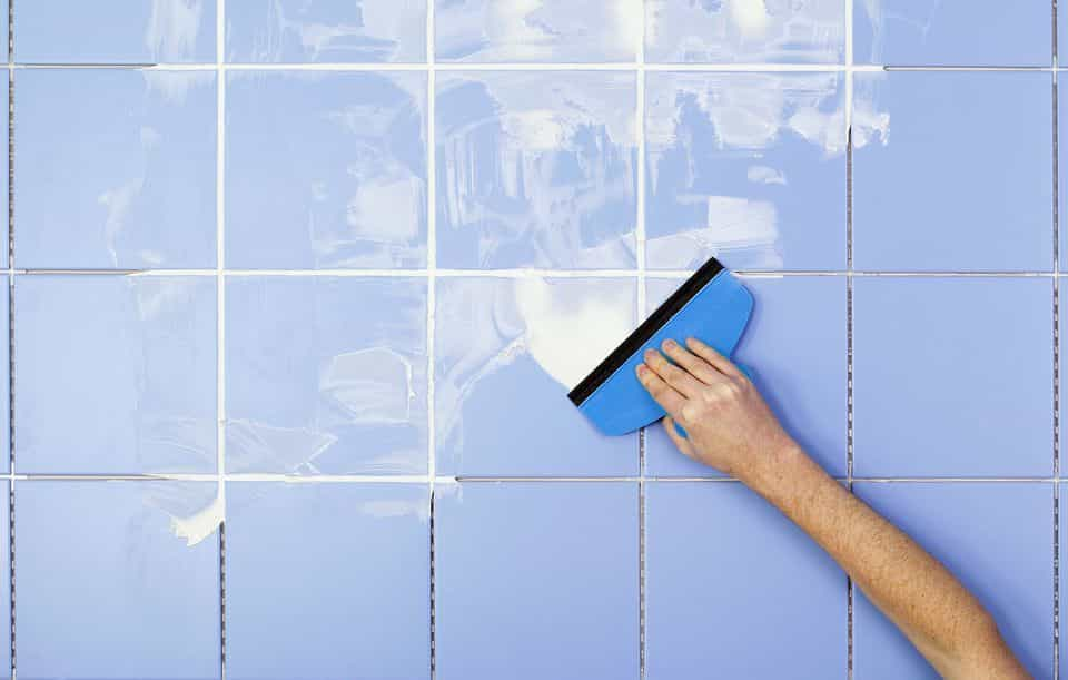 Replace Missing grout